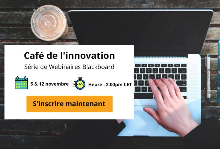 Webinaire - blackboard