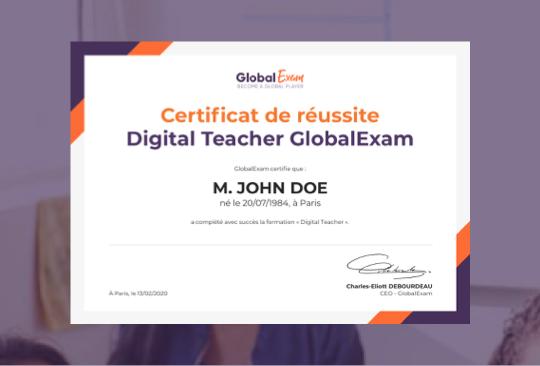 Obtenez la certification Digital Teacher !